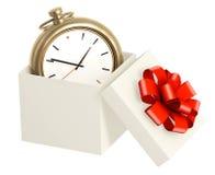 Tempo como um presente Foto de Stock Royalty Free