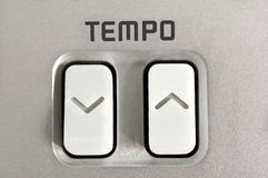 Tempo control. Royalty Free Stock Photo