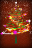 Tempo da árvore de Natal Foto de Stock Royalty Free