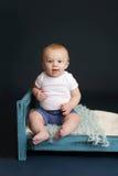 Tempo da cama de bebê Fotos de Stock