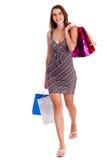 Tempo da compra Imagens de Stock