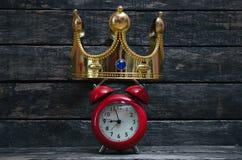 Tempo da coroação imagens de stock