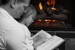 Tempo da despesa com família Foto de Stock Royalty Free