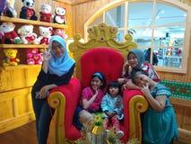 Tempo da família foto de stock