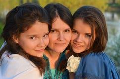 Tempo da família Fotografia de Stock Royalty Free