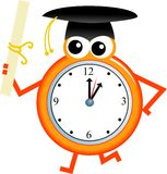 Tempo da graduação Imagem de Stock Royalty Free
