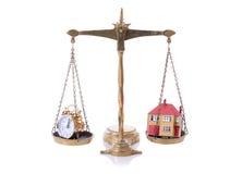 Tempo da hipoteca fotografia de stock royalty free