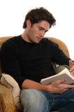 Tempo da leitura Fotografia de Stock