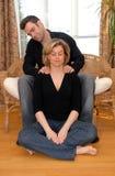 Tempo da massagem Imagens de Stock