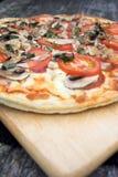 Tempo da pizza!!! Imagem de Stock Royalty Free