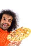 Tempo da pizza imagem de stock royalty free