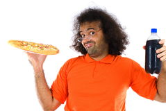 Tempo da pizza foto de stock royalty free