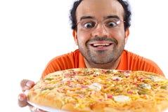 Tempo da pizza imagens de stock