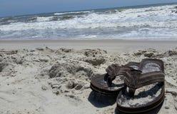 Tempo da praia foto de stock