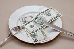 Tempo da refeição Fotografia de Stock Royalty Free