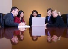 Tempo da reunião fotografia de stock royalty free