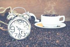 Tempo da ruptura de café Fotografia de Stock Royalty Free