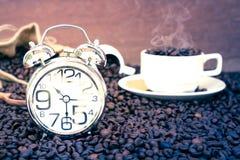Tempo da ruptura de café Imagens de Stock