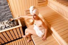 Tempo da sauna Fotos de Stock