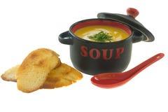 Tempo da sopa Foto de Stock Royalty Free