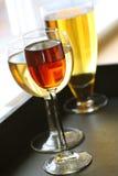 Tempo das bebidas Imagem de Stock Royalty Free