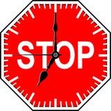 Tempo de batente Imagem de Stock