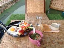 Tempo de café da manhã Foto de Stock Royalty Free
