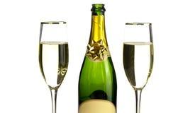 Tempo de Champagne Fotografia de Stock Royalty Free