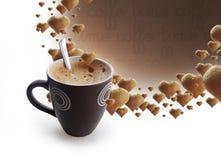 Tempo de Coffe Fotos de Stock Royalty Free