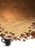 Tempo de Coffe Fotografia de Stock