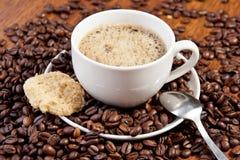 Tempo de Coffe Imagens de Stock