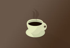 Tempo de Coffe Imagem de Stock
