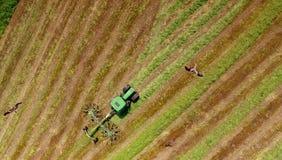 Tempo de colheita de cima de Fotos de Stock