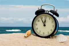 Tempo de férias Imagens de Stock Royalty Free