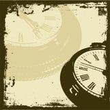 Tempo de Grunge Imagem de Stock