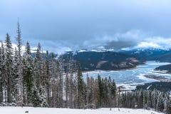 Tempo de inverno Imagens de Stock