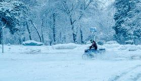 Tempo de inverno! Tempo do divertimento! Tempo da neve! Imagens de Stock