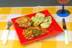 Tempo de jantar Foto de Stock Royalty Free