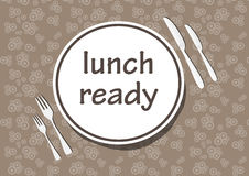 Tempo de jantar Imagens de Stock