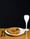 Tempo de jantar Imagens de Stock Royalty Free