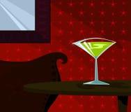 Tempo de Martini Imagem de Stock