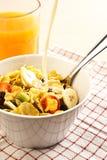 Tempo de pequeno almoço Foto de Stock
