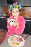 Tempo de pequeno almoço Foto de Stock Royalty Free