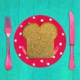 Tempo de pequeno almoço Ilustração Royalty Free