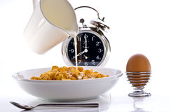 Tempo de pequeno almoço Imagem de Stock