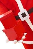 Tempo de presentes do Natal Imagens de Stock