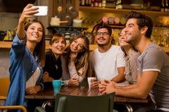 Tempo de Selfie imagem de stock royalty free