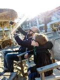 Tempo de Selfie fotos de stock royalty free