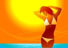 Tempo de verão Foto de Stock Royalty Free