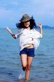 Tempo de verão feliz Fotografia de Stock